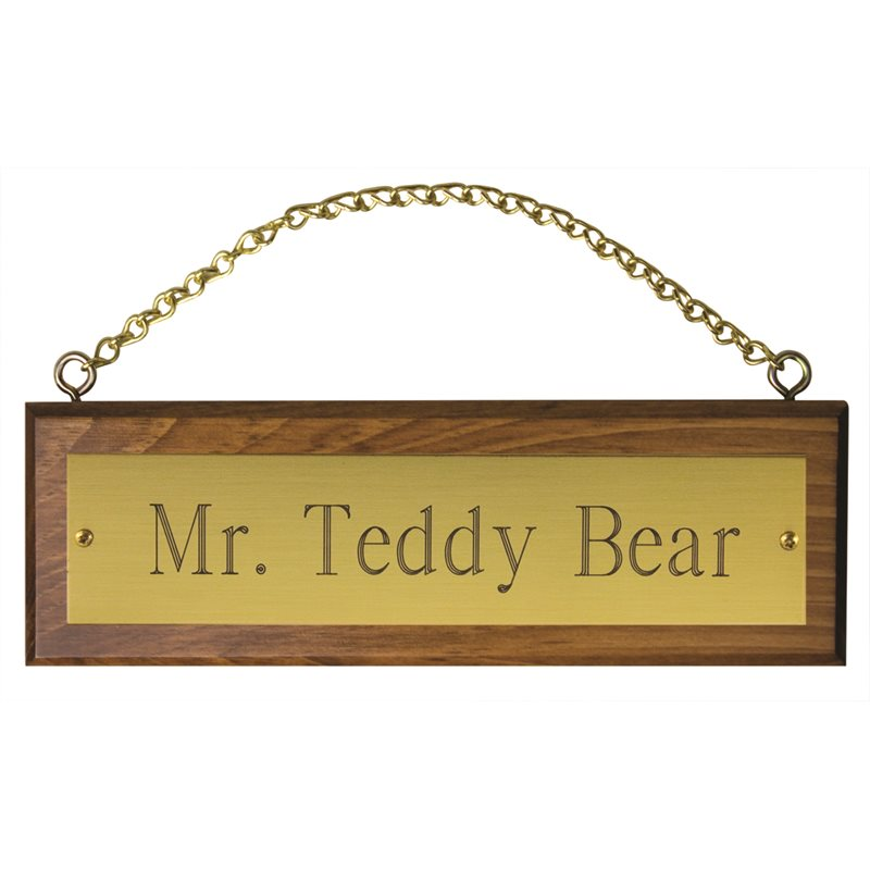 Name Plates & Stall Signs