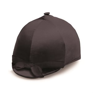 BLACK VELVET HELMET COVER
