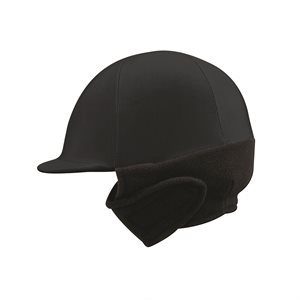 BLACK WINTER HELMET COVER