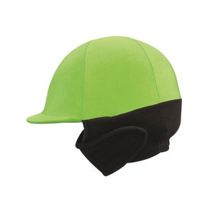 LIME GREEN WINTER HELMET COVER