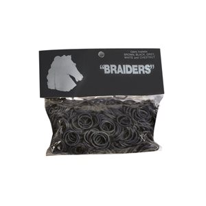 RUBBER BRAIDING BANDS - 500CT