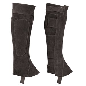 SUEDE HALF CHAPS - CLOSEOUT SIZE