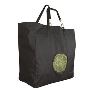 BLACK CORDORA HAY BAG