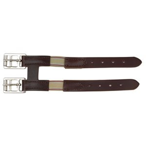 LEATHER GIRTH EXTENDER WITH ELASTIC