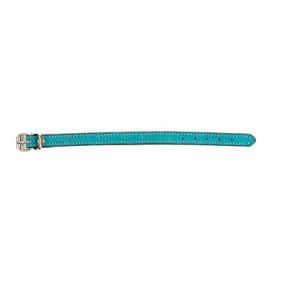 """1 / 2"""" WIDE TURQUOISE SUEDE BRACELET"""