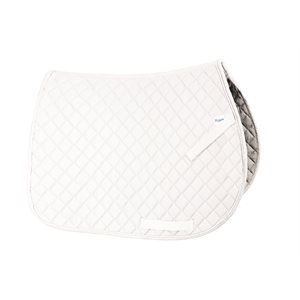 WHITE DRESSAGE EVERYDAY SADDLE PAD