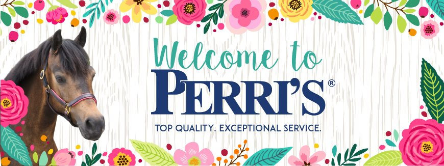 Spring Welcome to Perri's Banner
